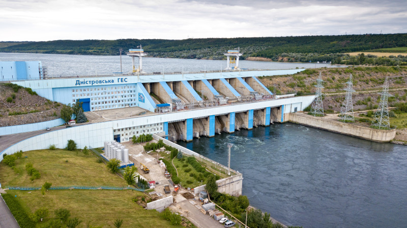 nДнестровская ГЭС